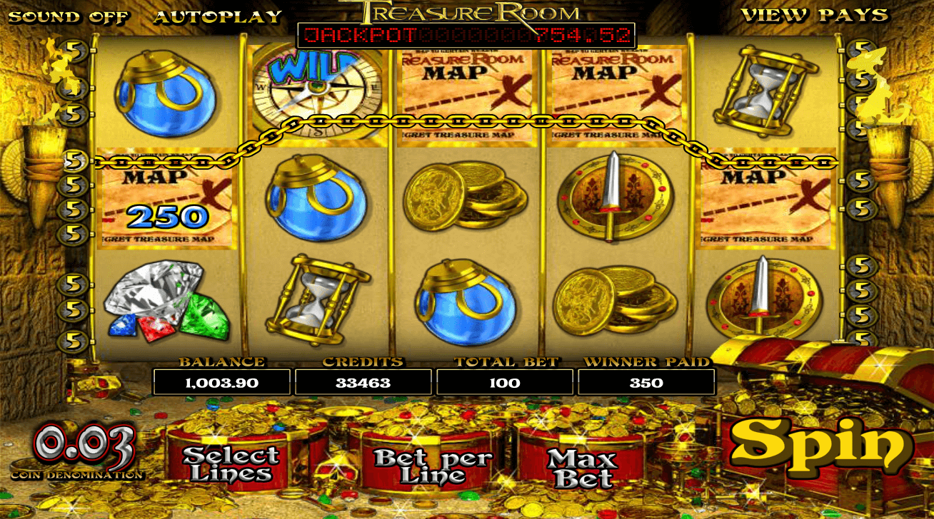 Relax and Win with No Download Treasure Room Slots