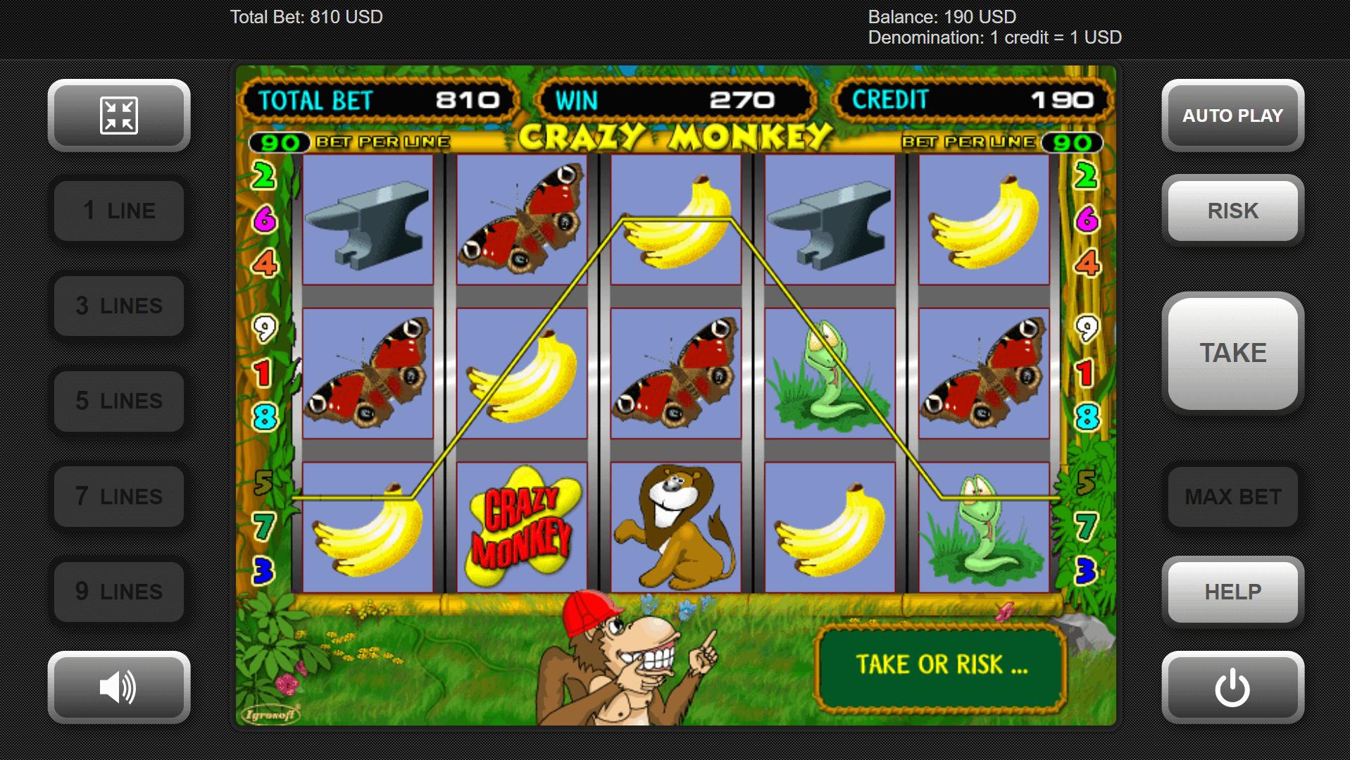 Monkey Slot Games