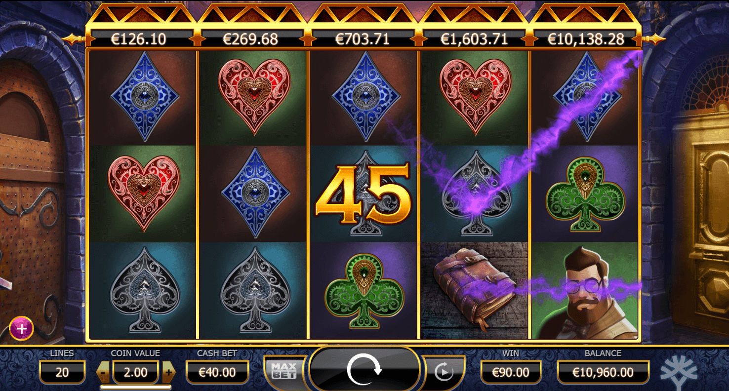 Holmes And The Stolen Stones Slot Machine
