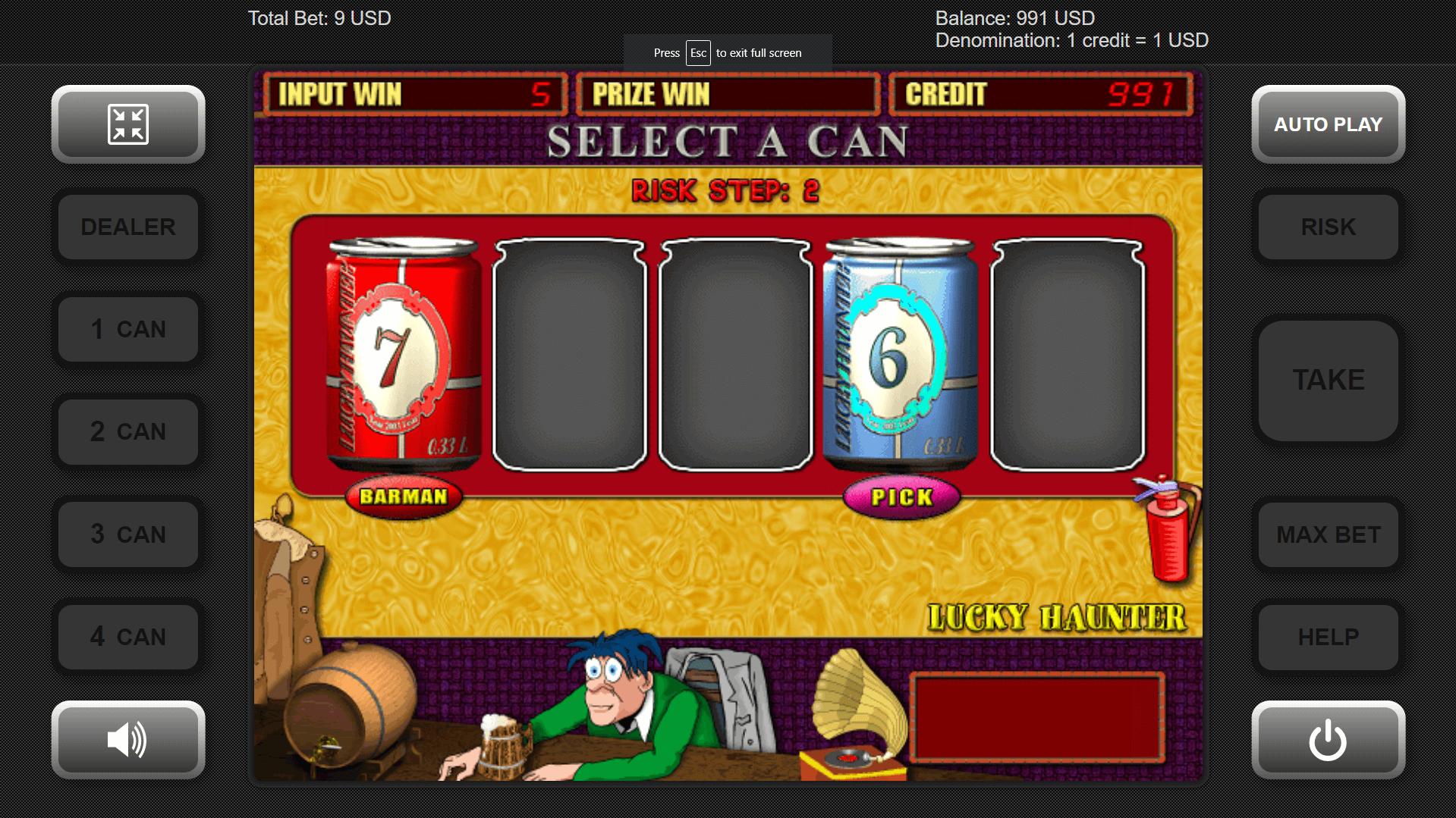 Online Slots Lucky Haunter