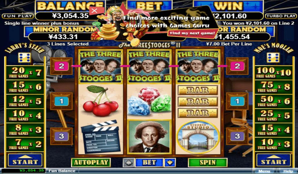 Three Stooges Slots