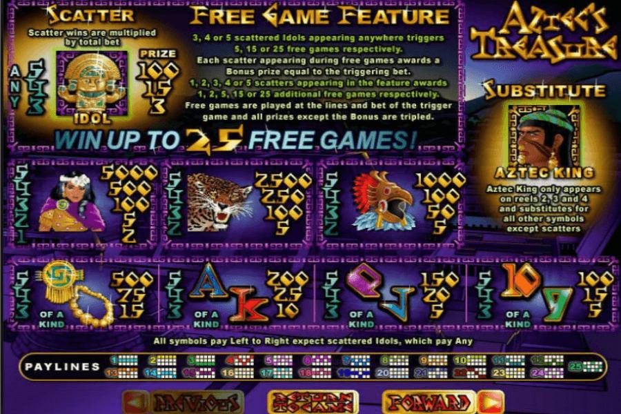 Spiele AztecS Treasure Feature Guarantee - Video Slots Online