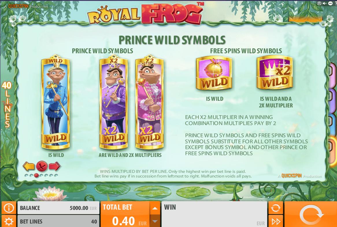 Spiele Royal Frog - Video Slots Online