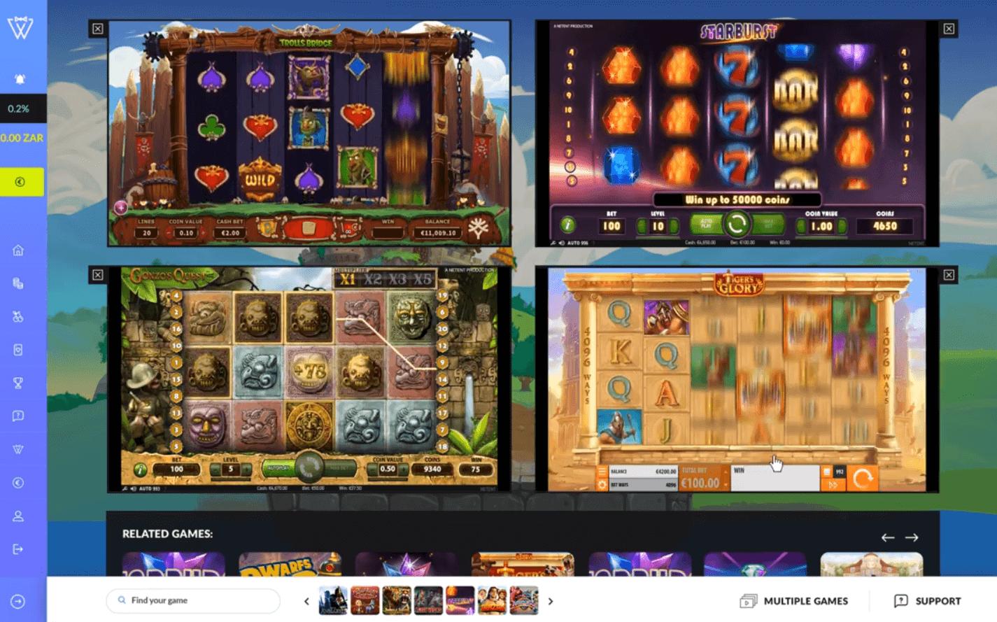 West Casino Multi Game