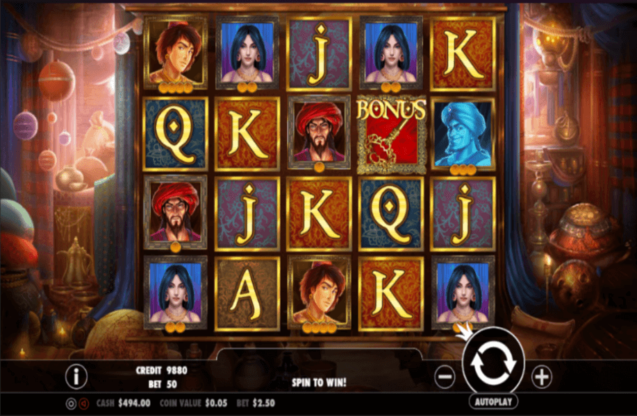 Spiele Aladdin - Video Slots Online