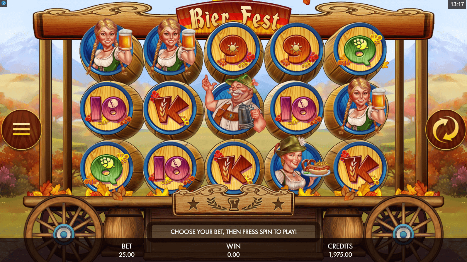 Play Bier Fest Slot Machine Free with No Download