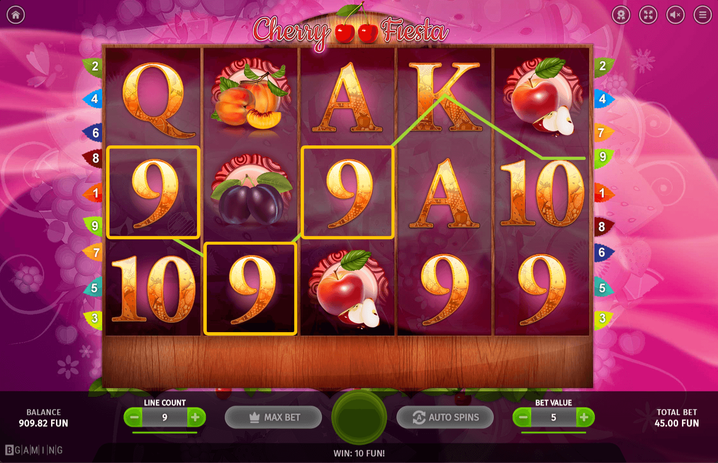 7/23/ · Cherry Fiesta video slot is presented in the online casinos, powered by the software developed by SoftSwiss company.Our reviewers were testing this slot machine without registration in a fun mode in Evolution Casino, which accepts payments only .