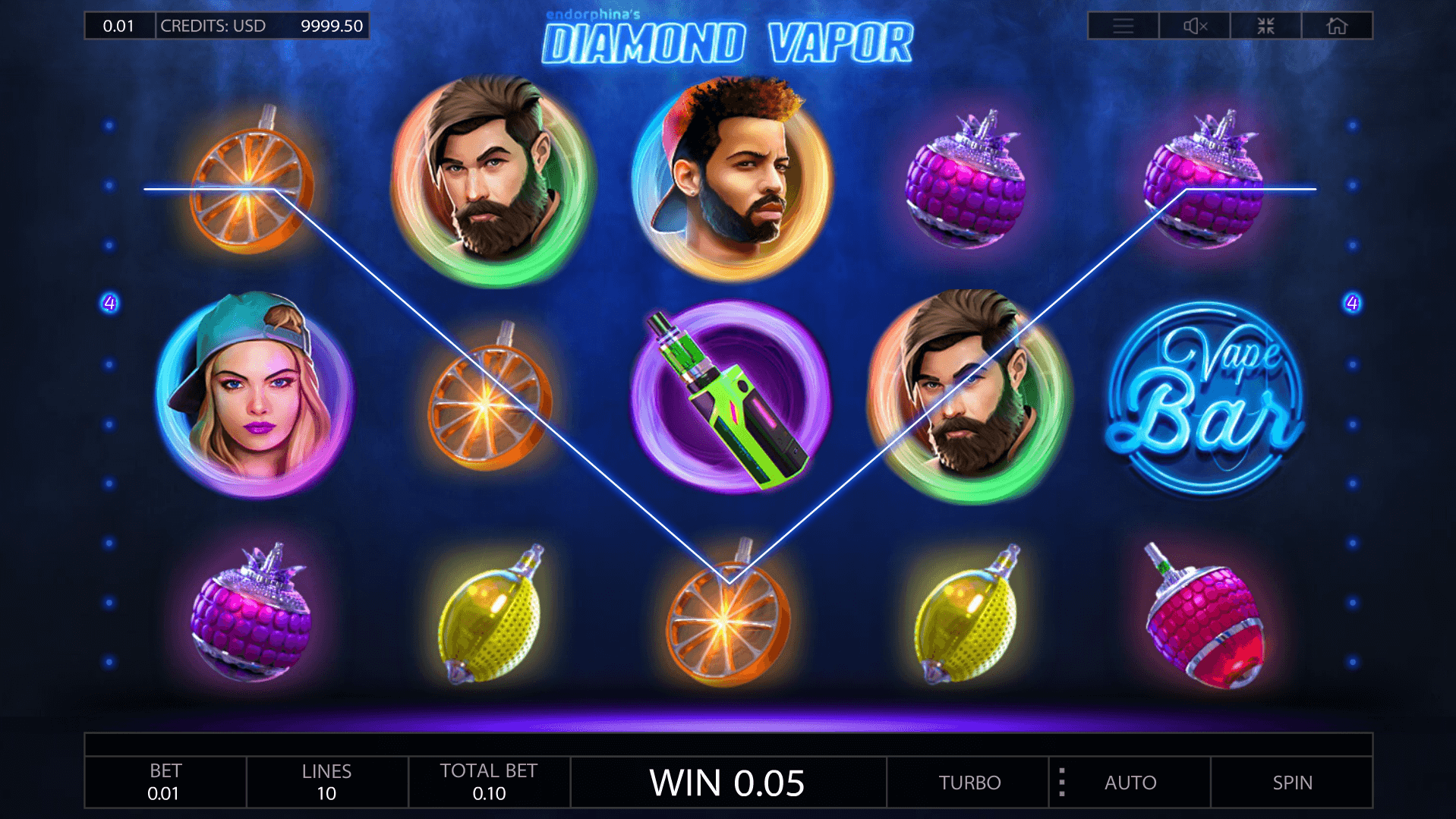 Spiele Diamond Vapor - Video Slots Online