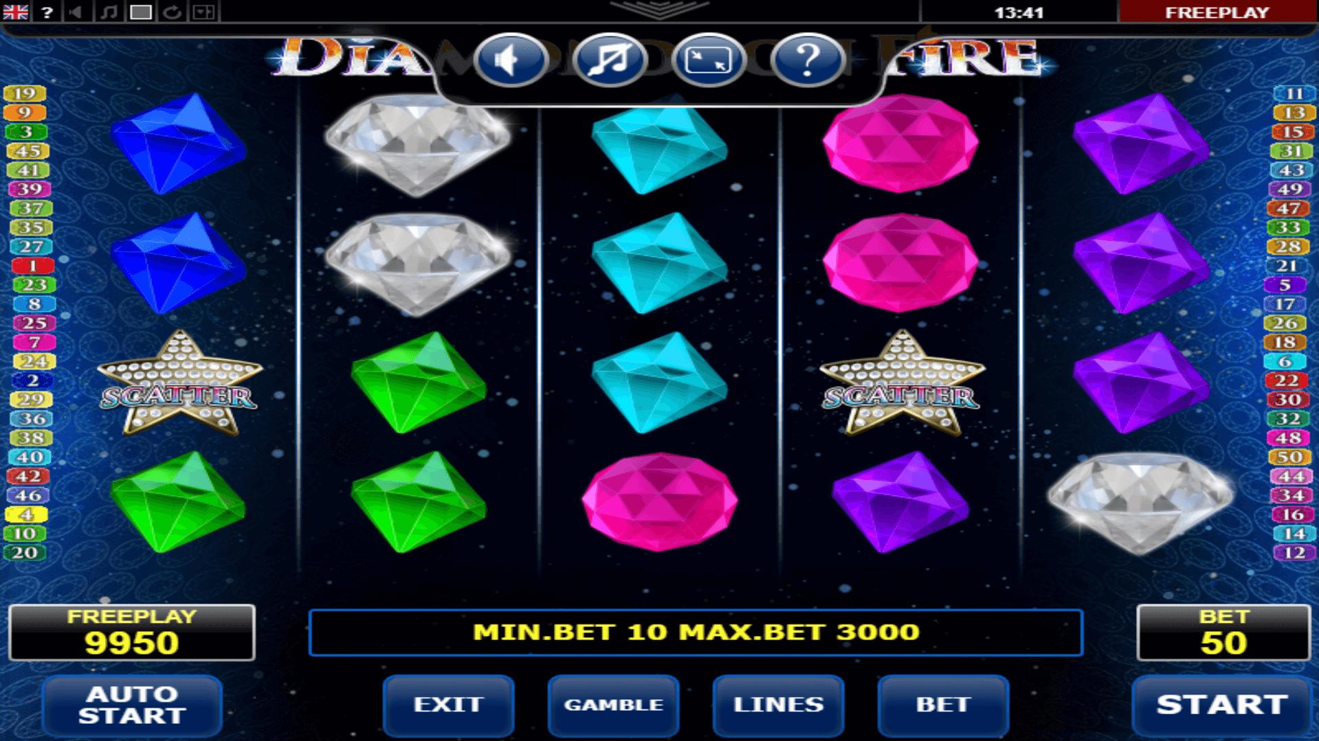 Spiele Diamonds On Fire - Video Slots Online