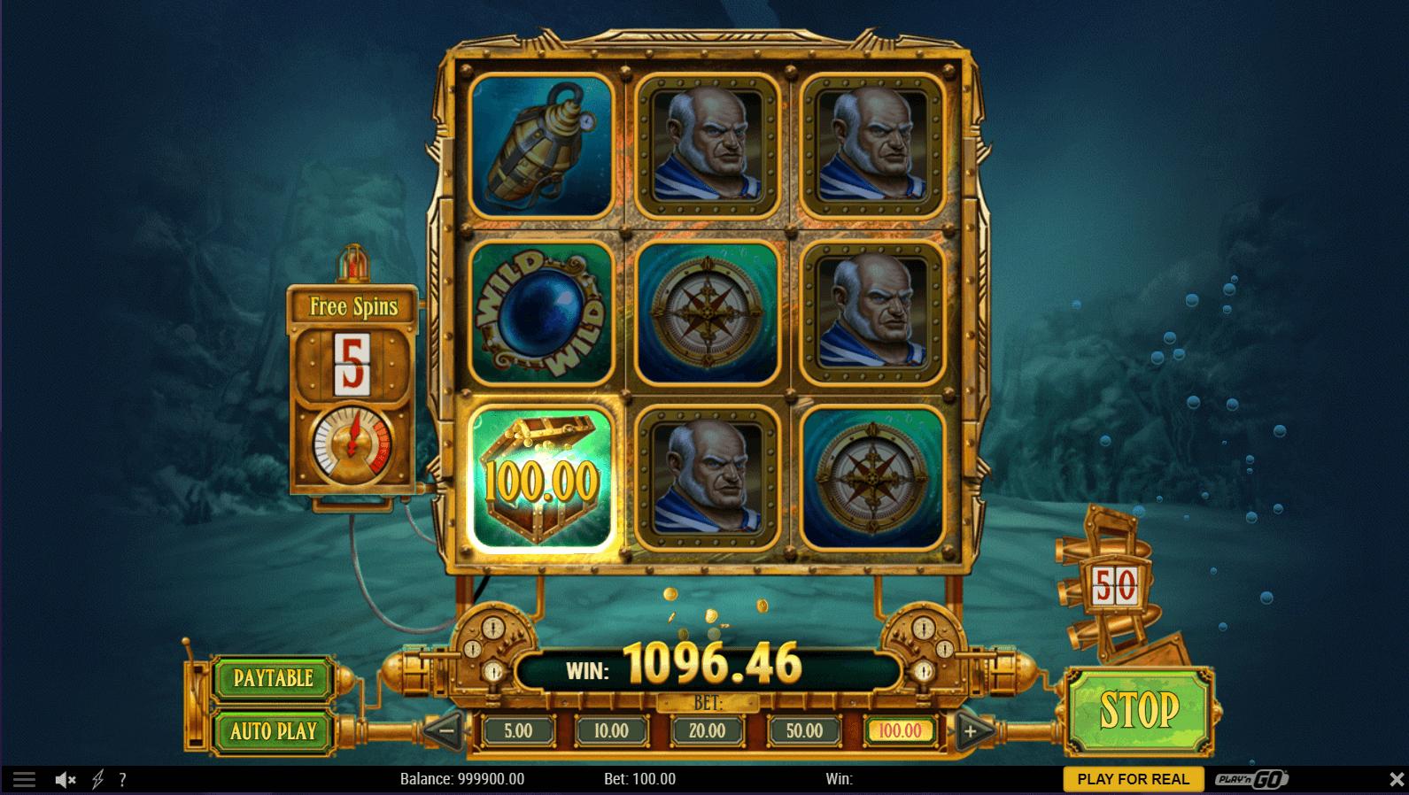 Eye Of The Kraken slot: Play with $210 Free Bonus ...