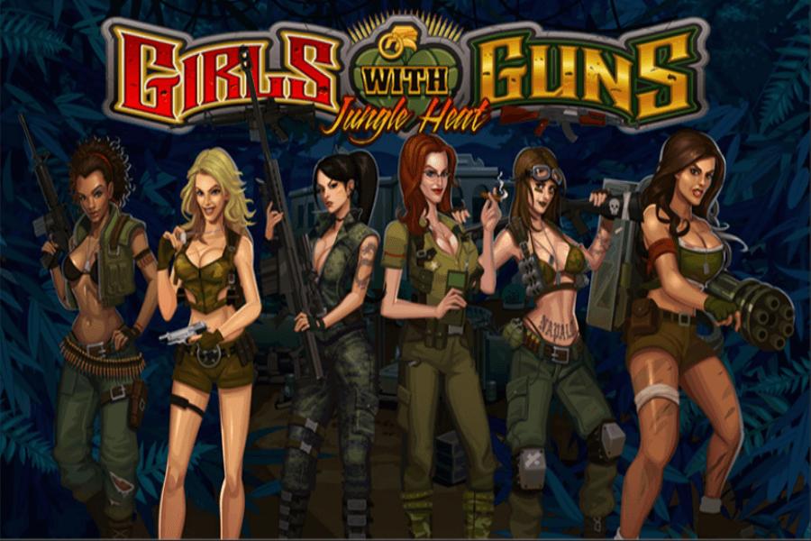 Girls With Guns - Jungle Heat slot