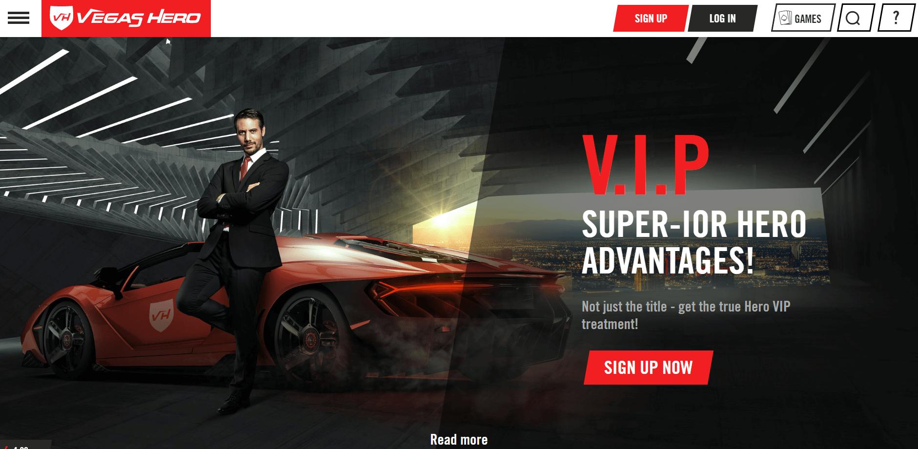 Vegas Hero Casino Bonus Codes 2021