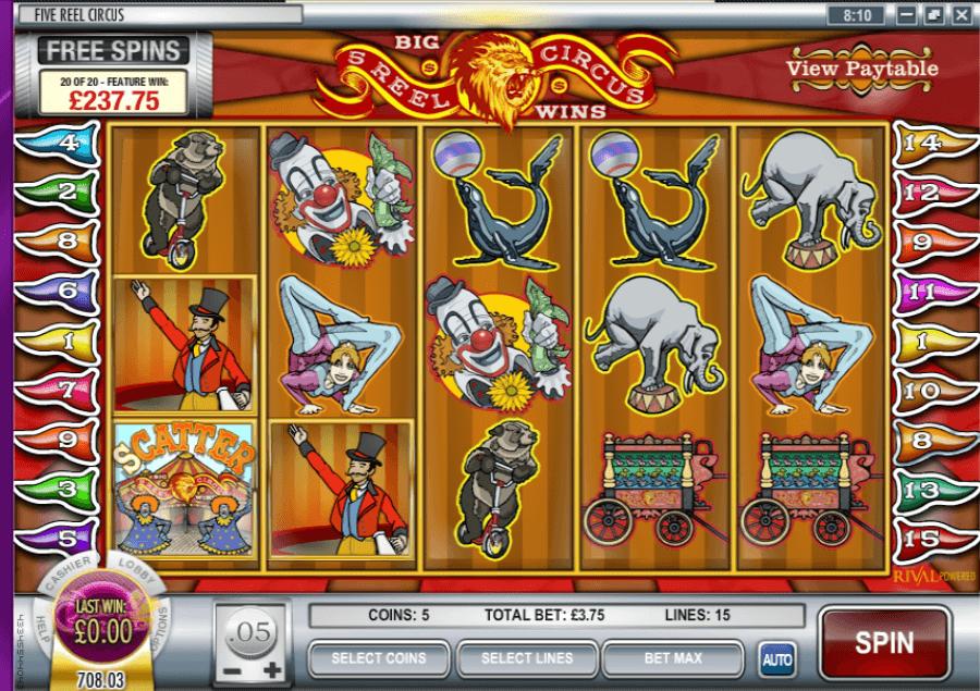 5 Reel Slots With Bonus