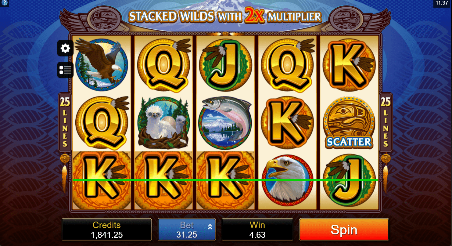 Play Eagle Wins Slot For A Chance Of 100 Free