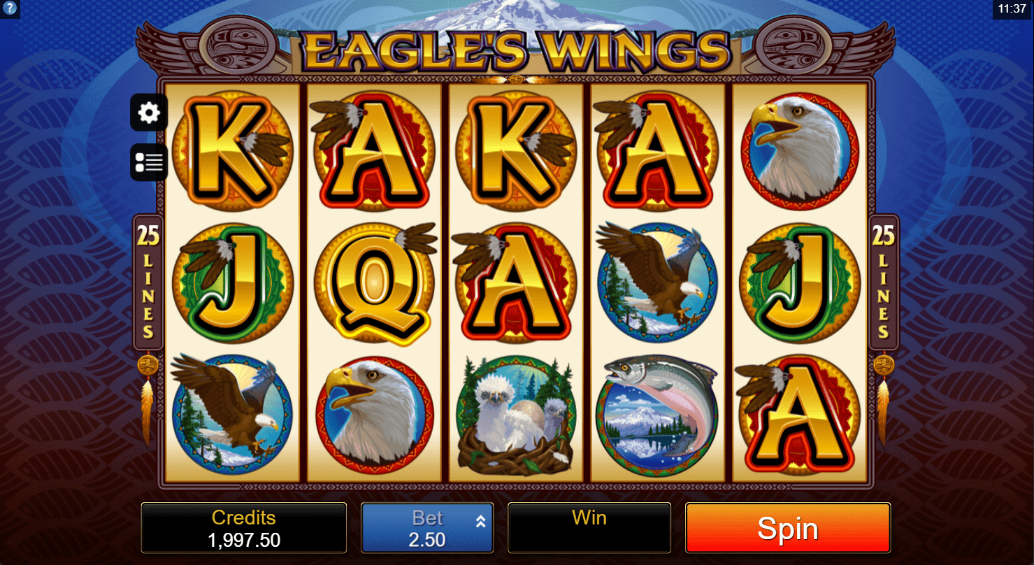 EagleS Wings Online Slots: New This Summer