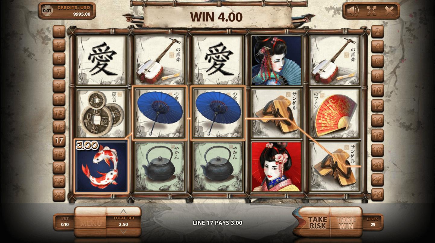 Free Geisha Slot Game