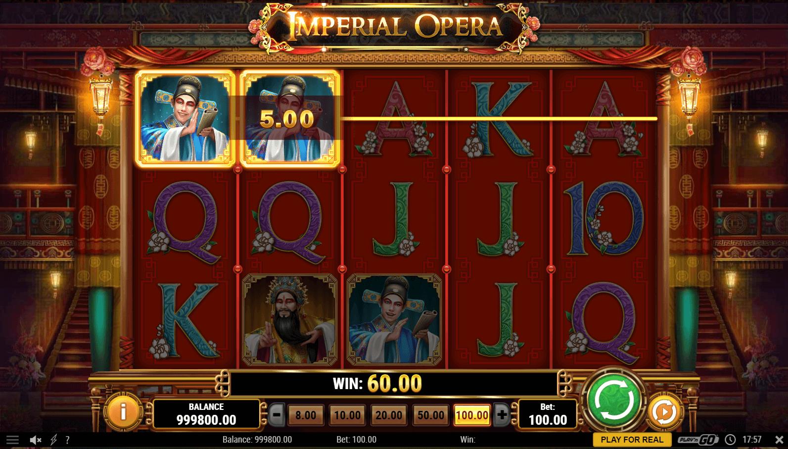 Imperial Opera Slot Machine