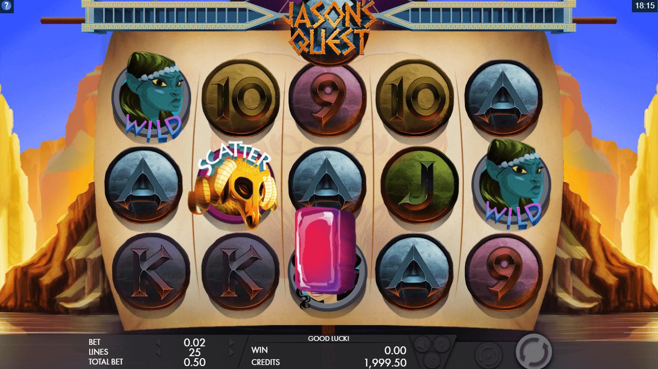 Jasons Quest Slot Machine