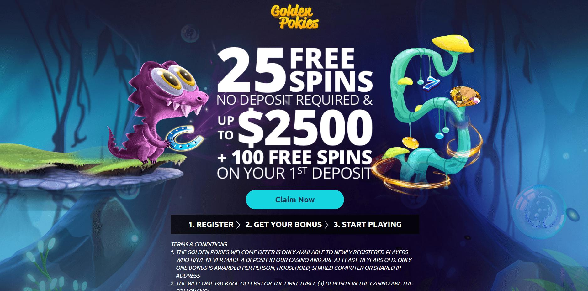 Free spins pokies