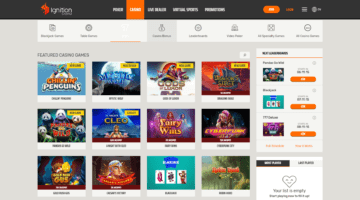 Ignition Casino Free Spins